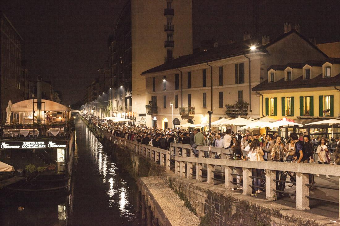 24 heures à Milan - un soir sur les navigli