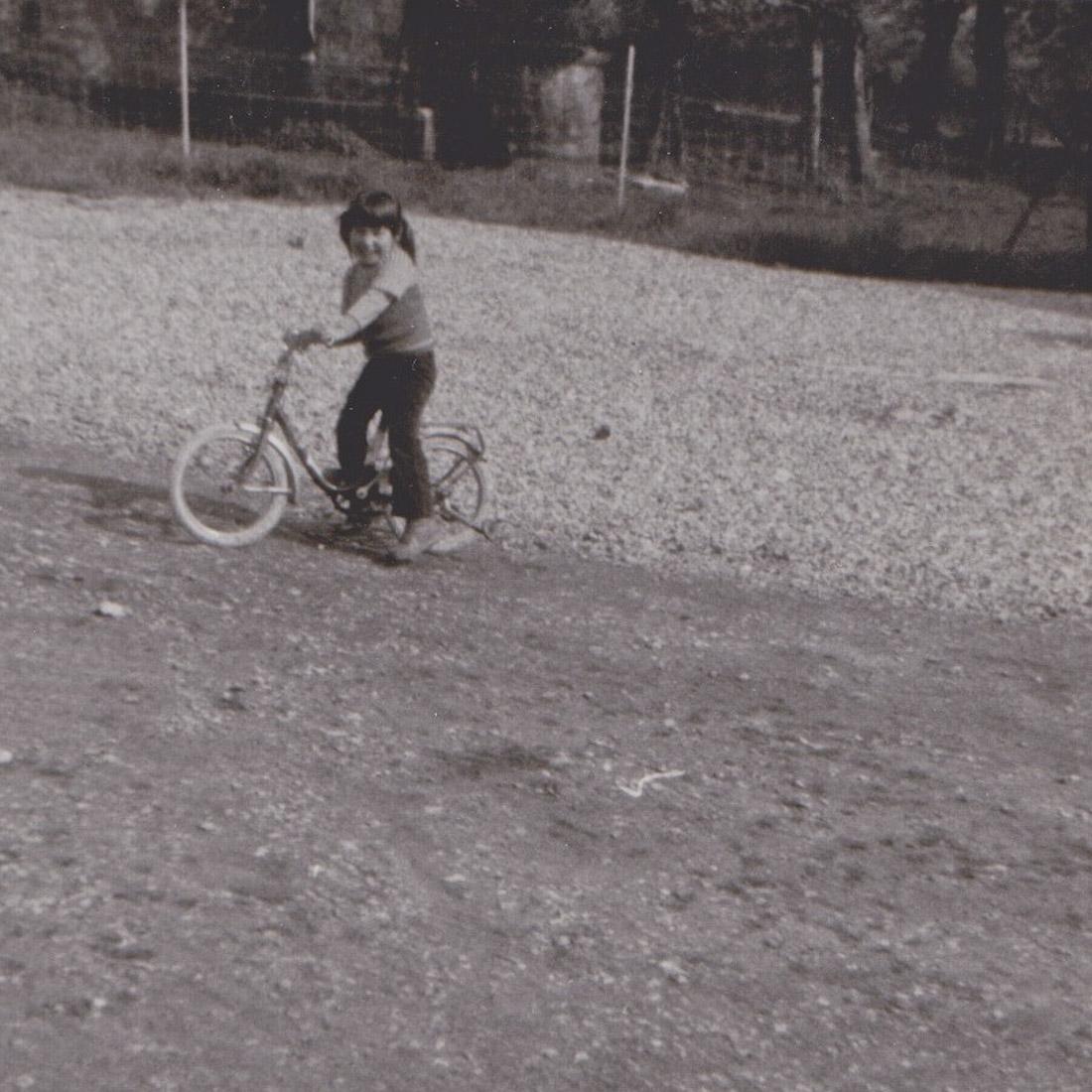 Parfums de mon enfance - Mon vélo rouge