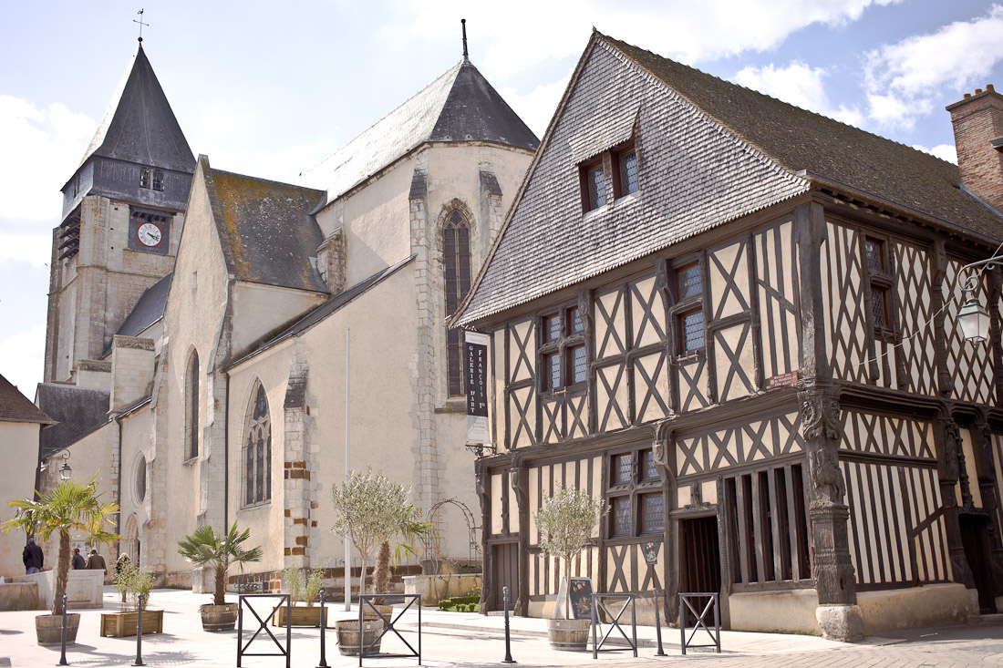 maison François 1er Aubigny sur nere berry