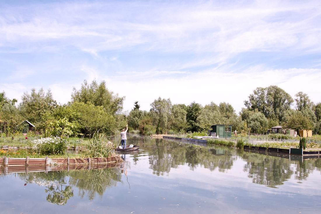 A la pêche dans les marais de bourges
