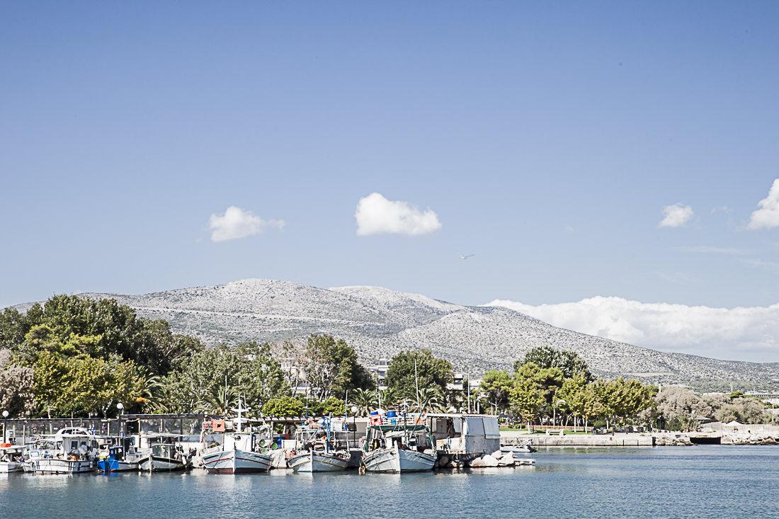 Athènes Grèce - port de peche