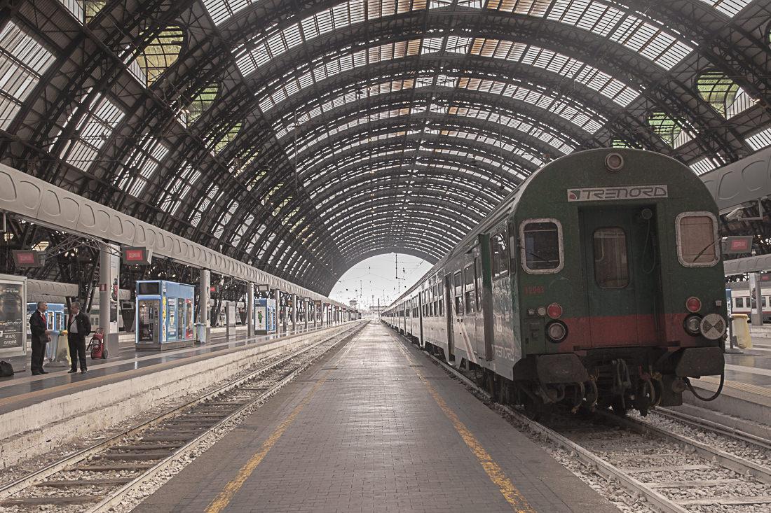 Facile de se déplacer en train autour de milan avec les train régionaux trenord