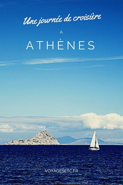 Une journée de croisière à Athènes pinterest