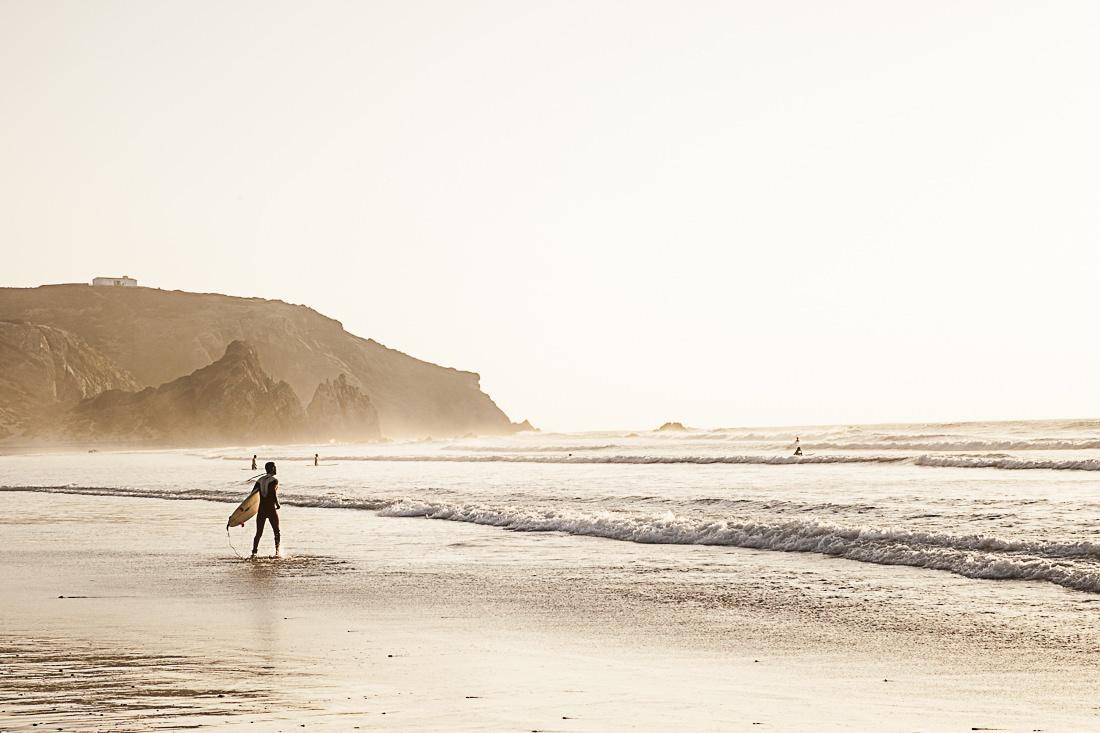 L'algarve au Portugal, la région du surf et des surfers