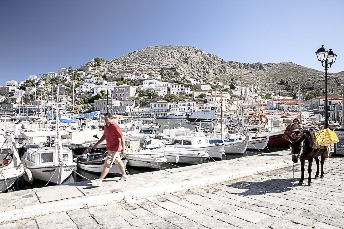 Hydra, une superbe île sans voiture à 3 ou 4 heures de bateau d'Athènes