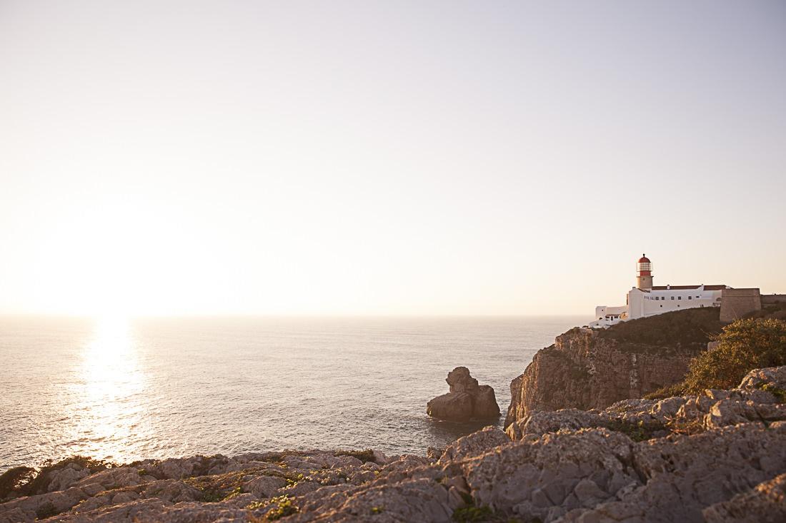 Le cap Saint Vincent sur la péninsule de Sagres, le bout du monde au Portugal