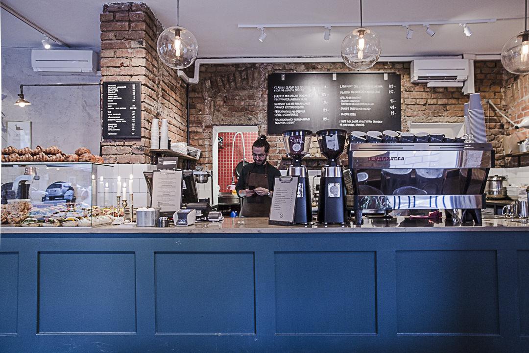 Intérieur du café Pascal