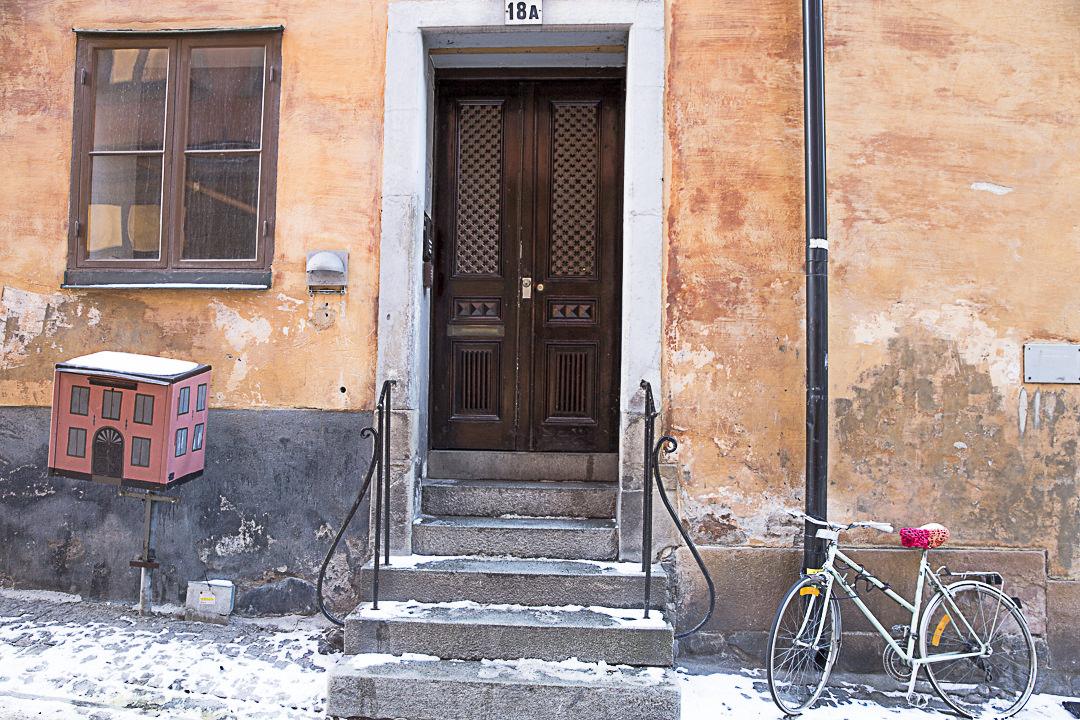 Poésie des rues pavées de Gamla Stan à Stockholm
