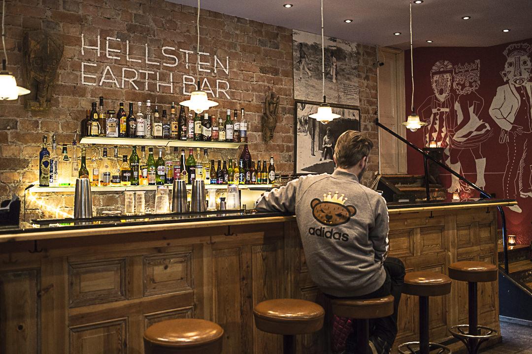 Le bar de l'hotel Hellsten Stockholm