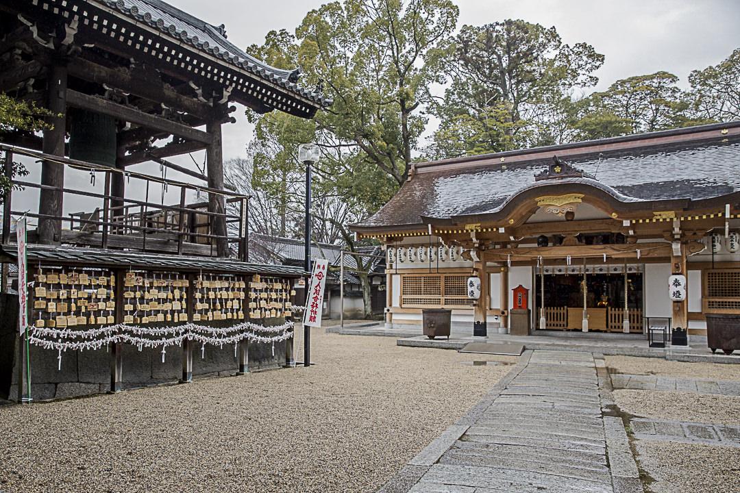 Ambiance zen dans un temple de Iga