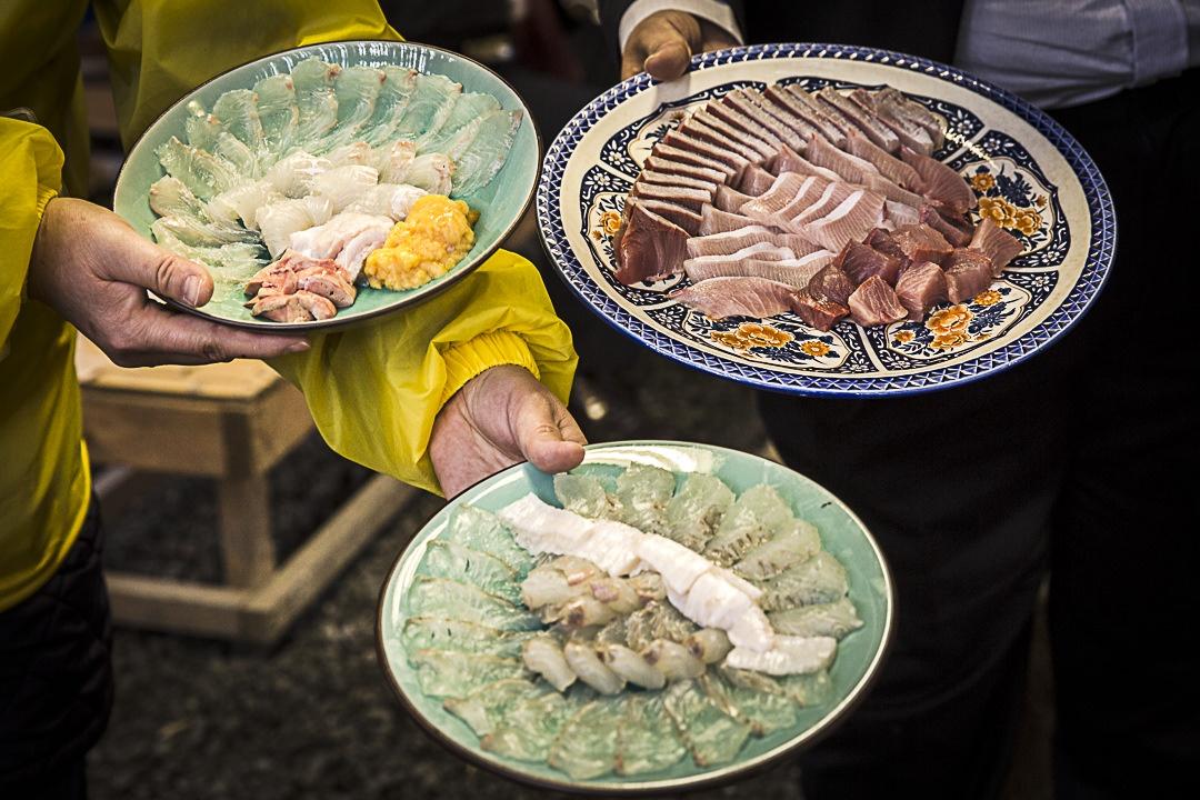 Le sashimi de Motoya
