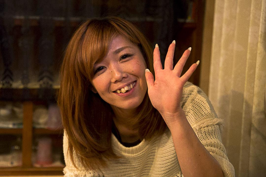 Jeune serveuse du karaoke de Toshi-jima