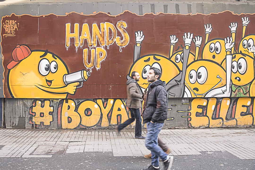 Streetart rue Istiklal - Istanbul