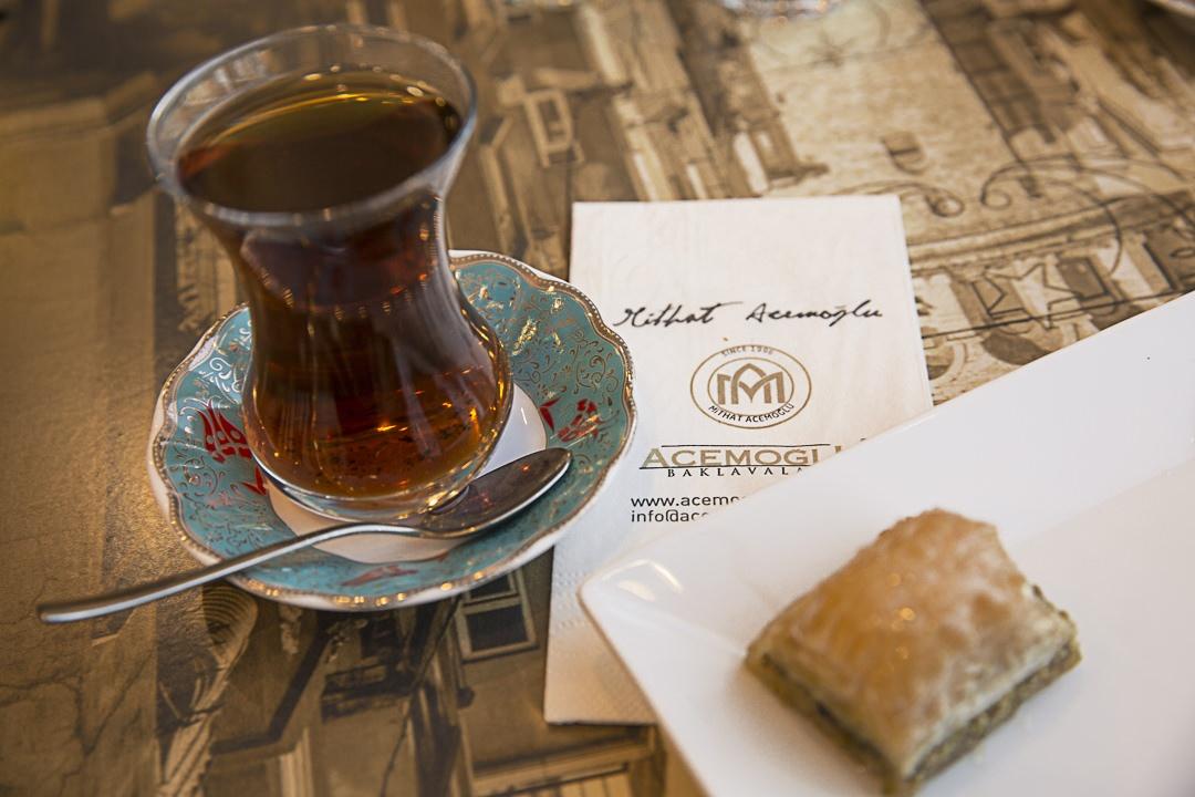 Salon de thé Acemuglu à Istanbul