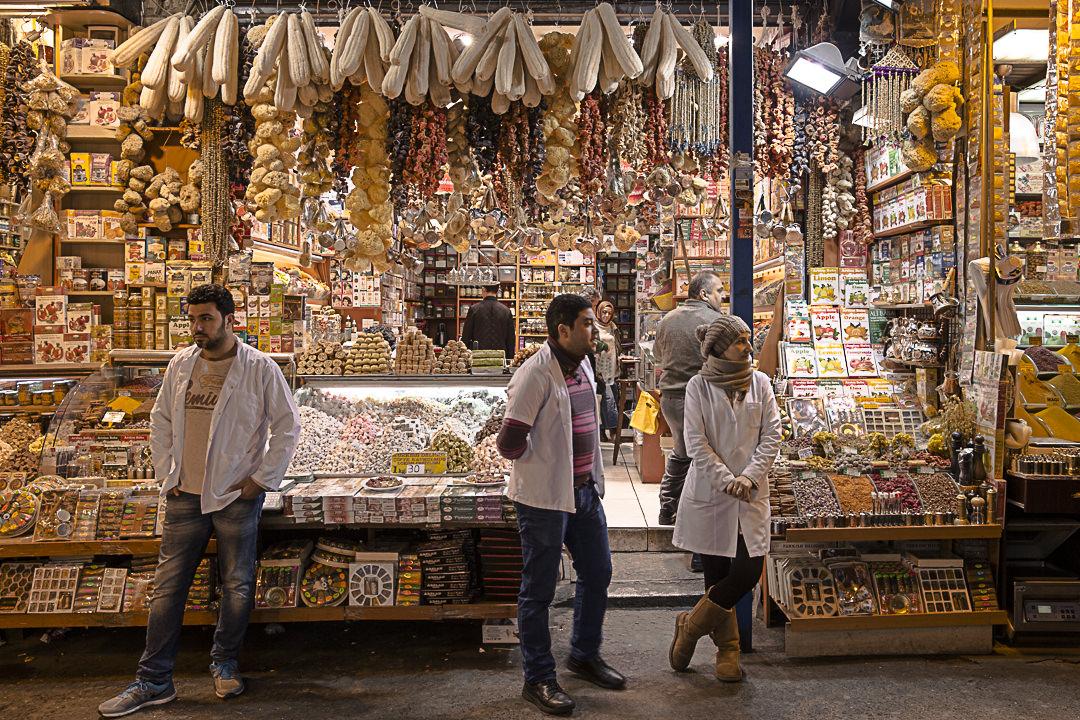 Marché aux épices, Istanbul