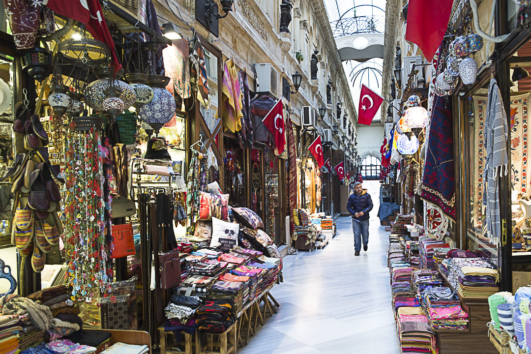Istanbul : passage sur Istiklal