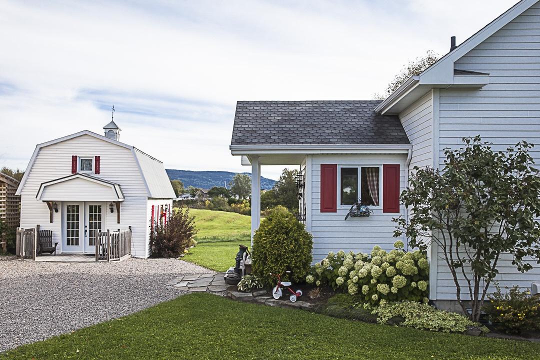 Une jolie maison de l'anse Saint Jean