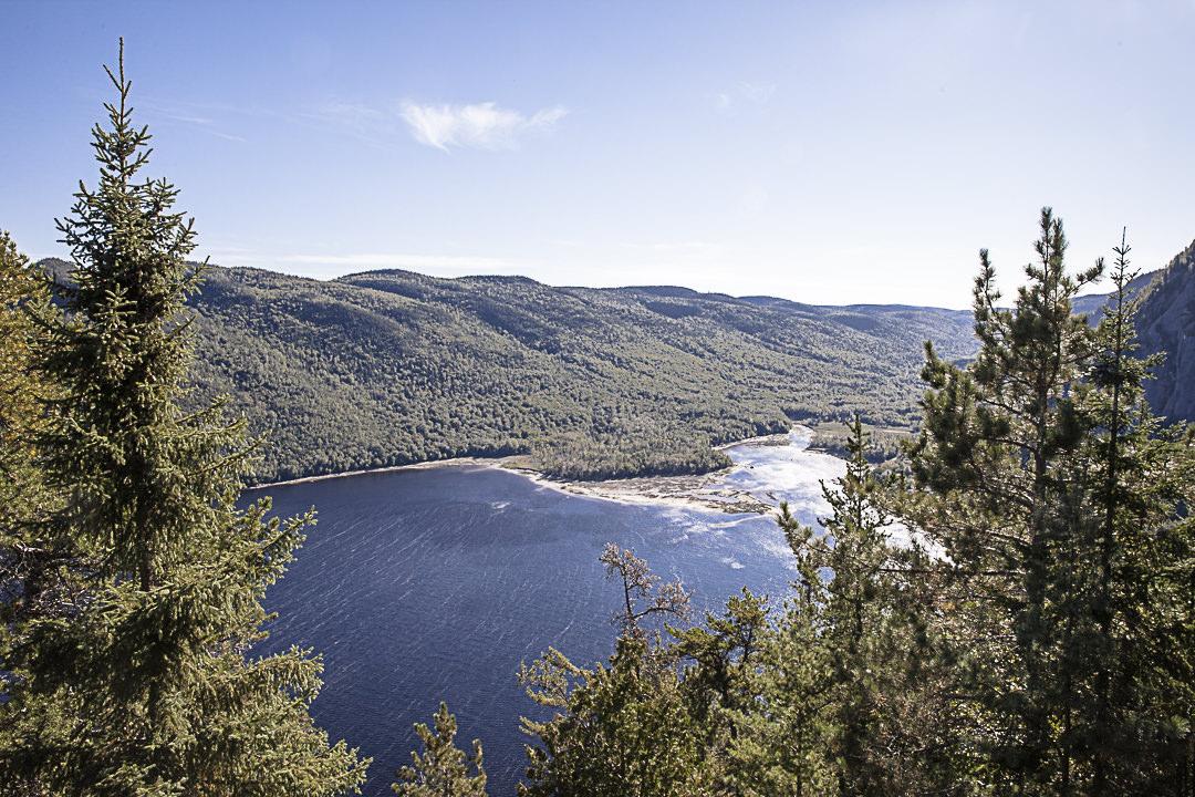 Autre vue sur le Fjord du Saguenay
