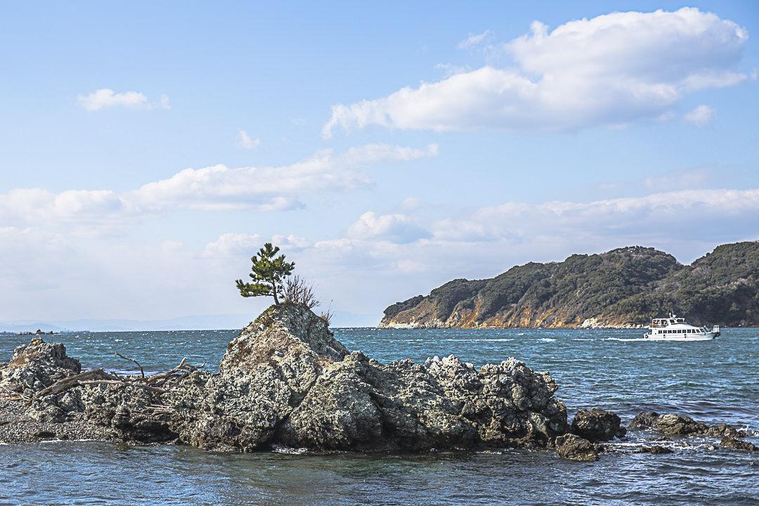 En route pour Toshijima dans la région de Mie au Japon
