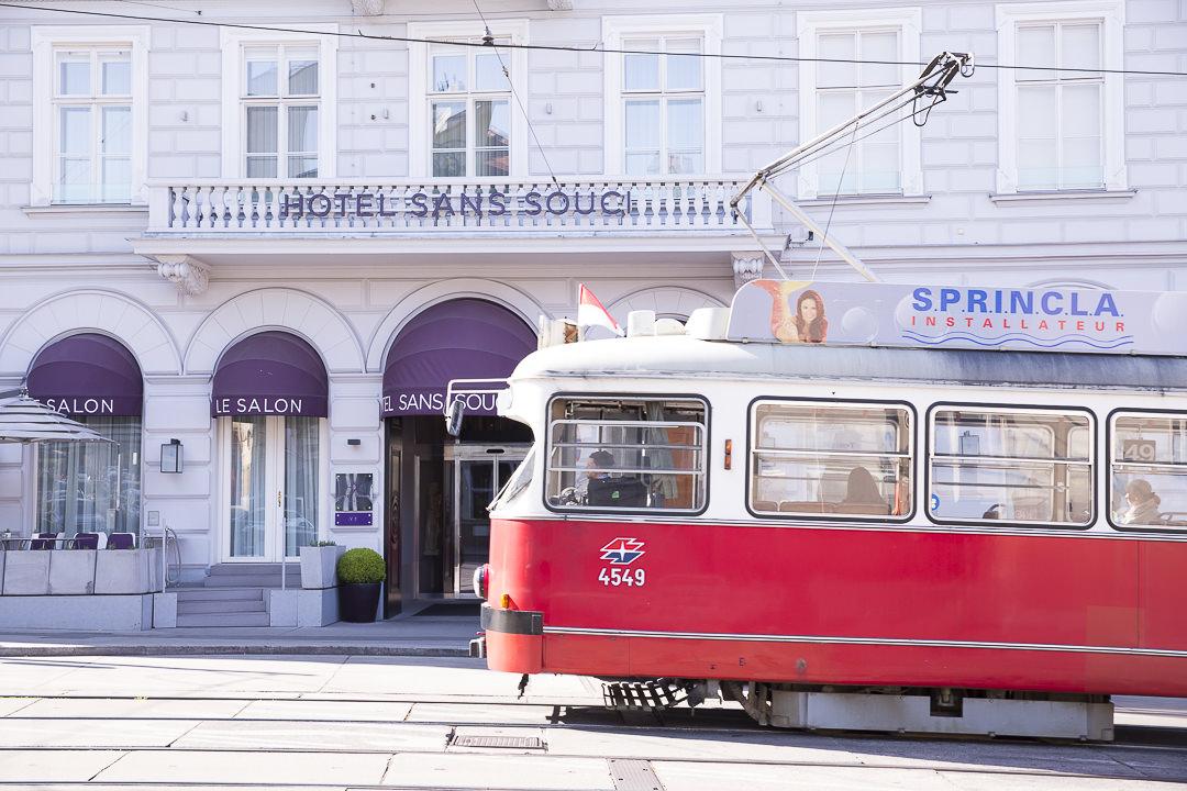 l'hôtel sans souci, un hotel chic et design à Vienne en Autriche