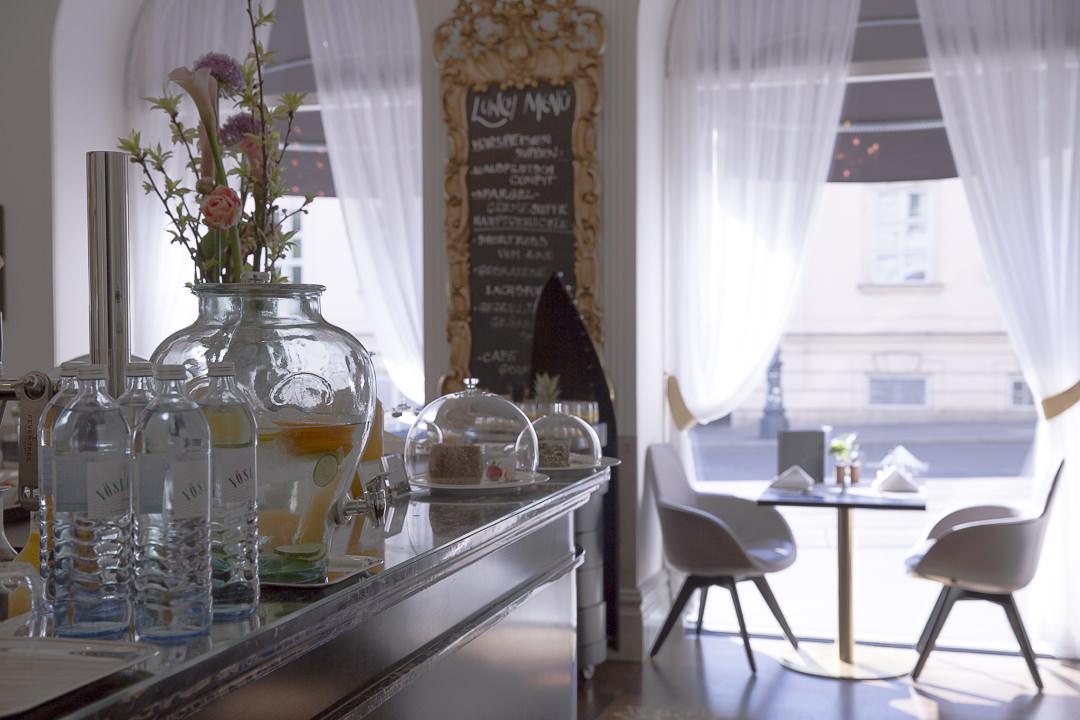 Entrée restaurant La Véranda - Sans souci Vienne
