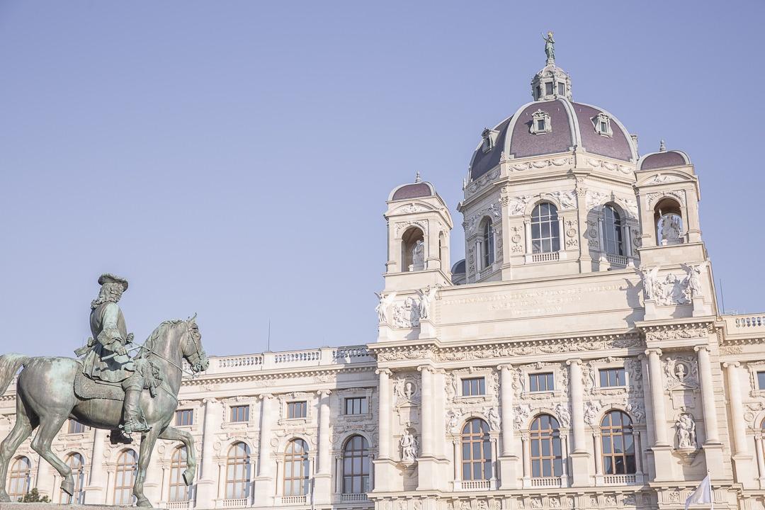 Des statues et des musées à Vienne