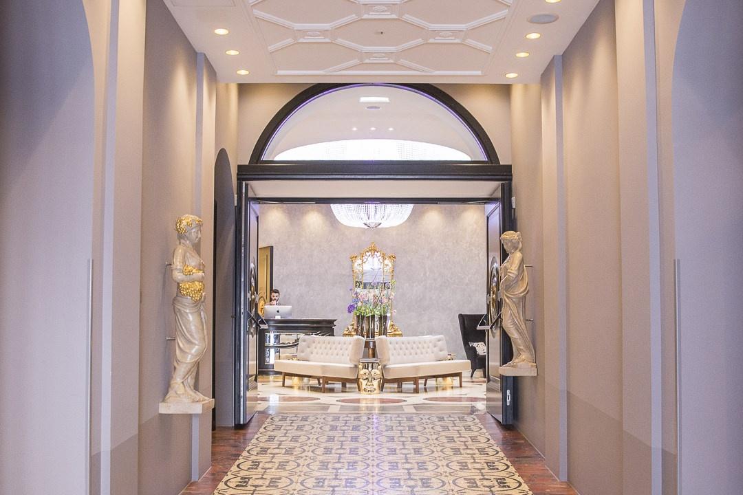 Entrée du design hotel sans souci Vienne
