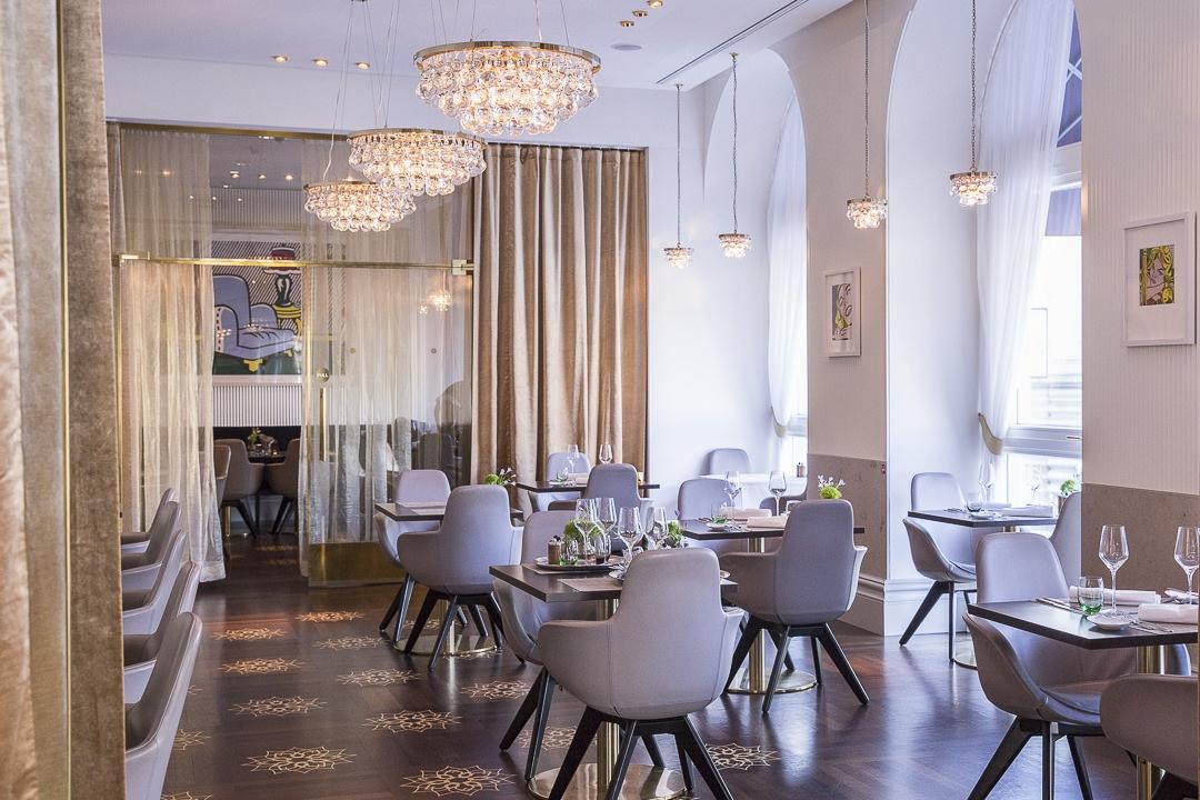 Restaurant la Véranda, hotel sans souci Vienne autriche