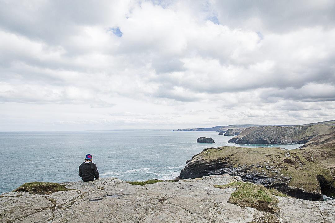 Road Trip en Cornouailles - Pause sur les ruines de Tintagel