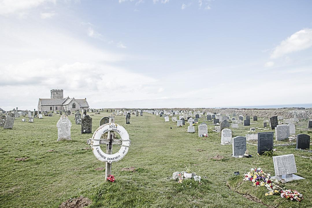Road Trip en Cornouailles - Le cimetière marin de Tintagel