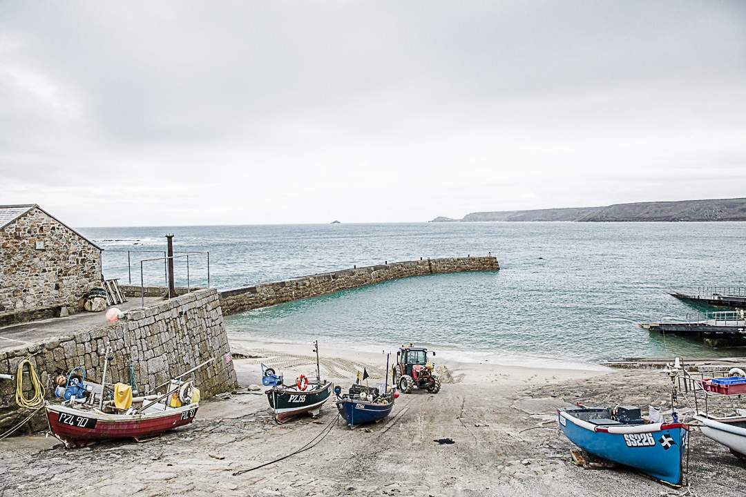 Road Trip en Cornouailles - Port de Sennen Cove