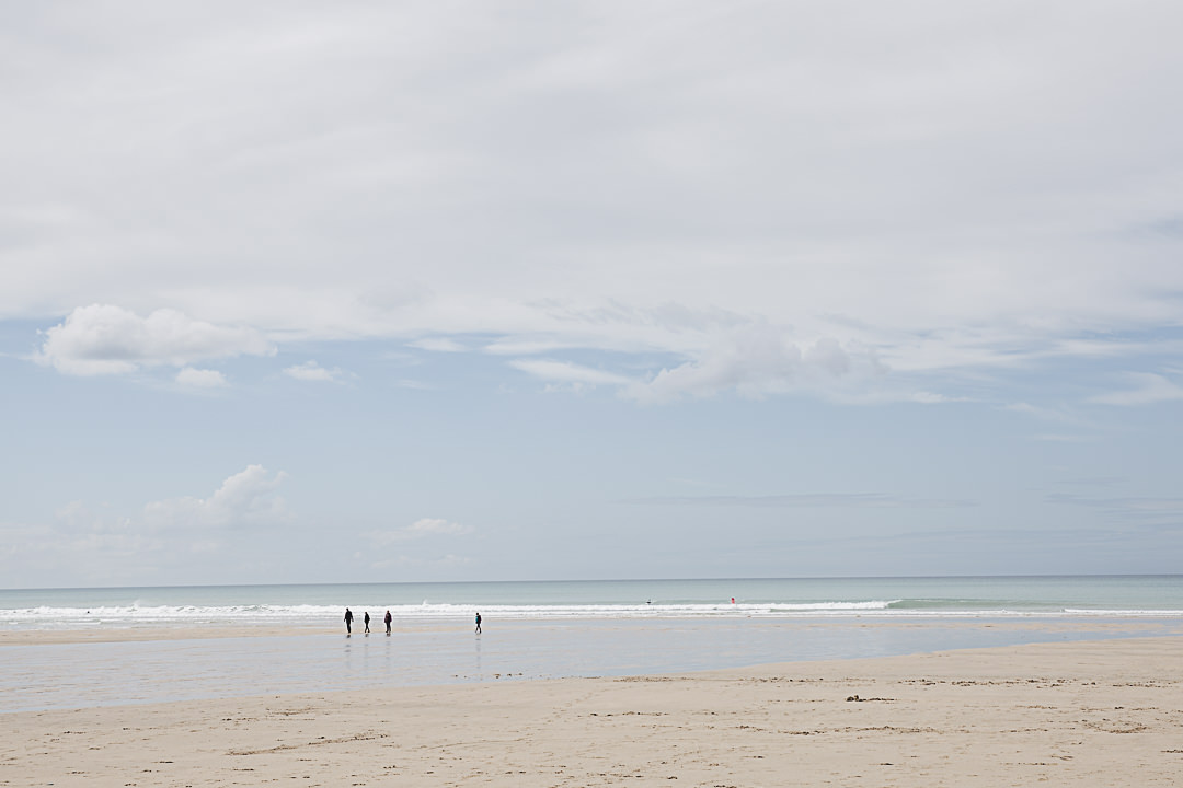 Road trip en Cornouailles - Surf sur la plage de waterbay