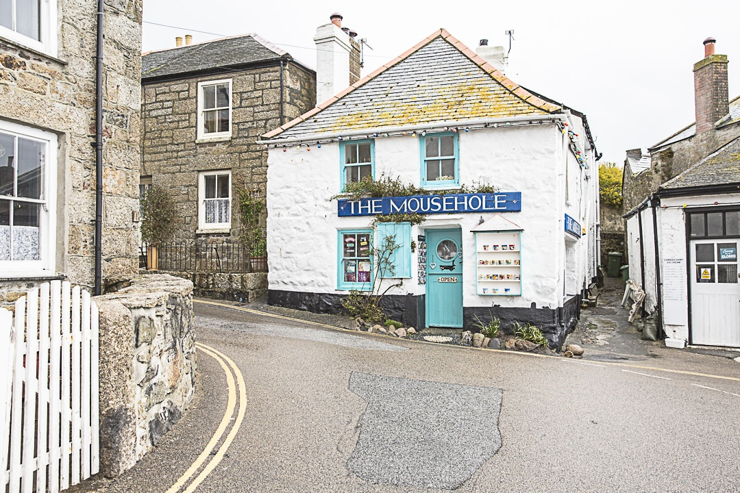 Road Trip en Cornouailles - The mousehole, une super boutique