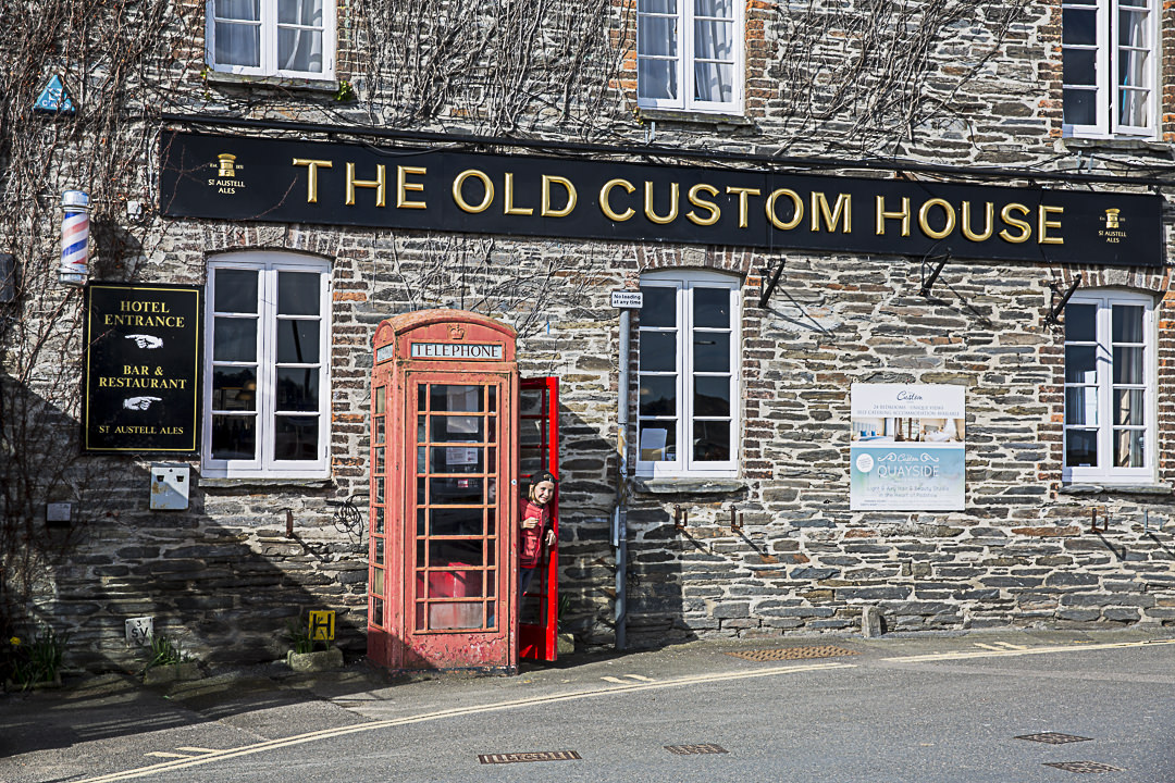 Road Trip en Cornouailles - The old custom house, padstow