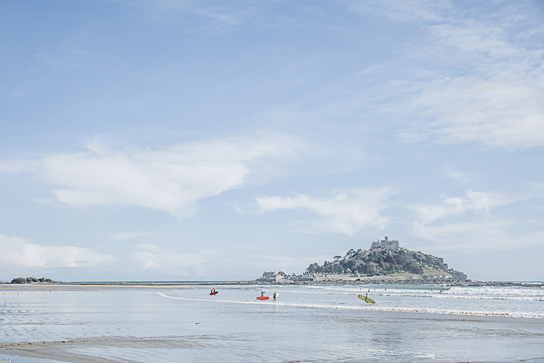 Road Trip en Cornouailles - Les surfers du mont Saint Michael