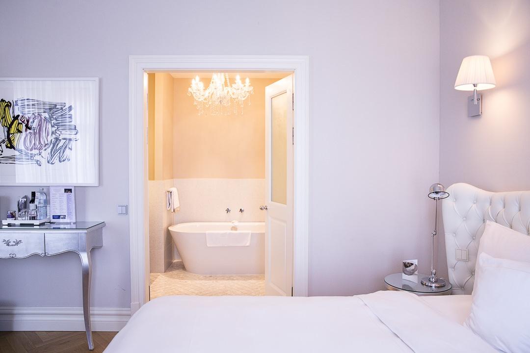 Suite côté salle de bain