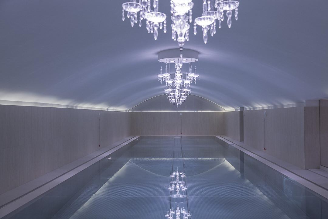 La piscine de l'hotel sans souci, hotel design à Vienne