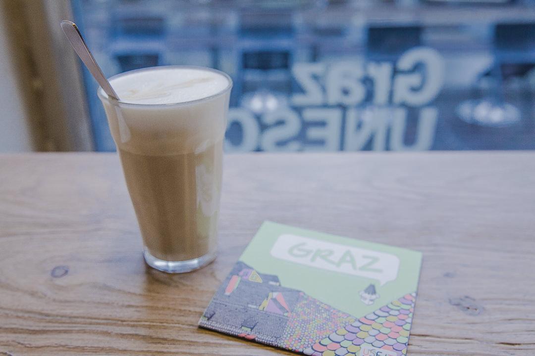 Café latte au Tribeka