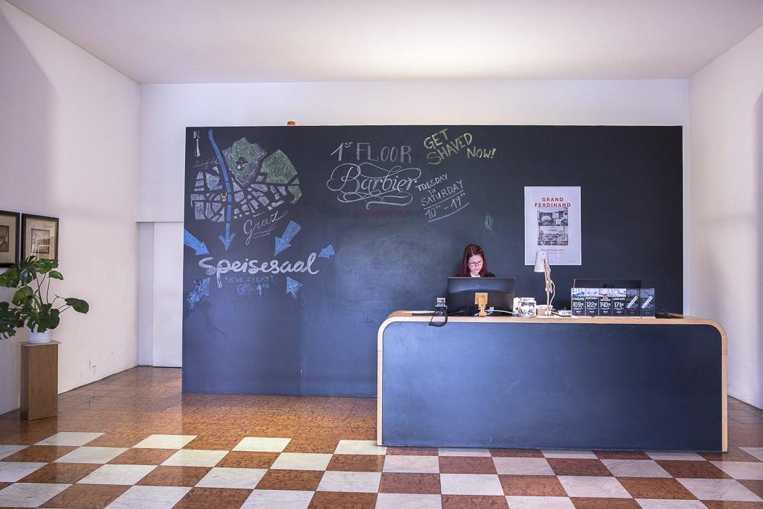 Lobby de l'hotel Wielser Graz