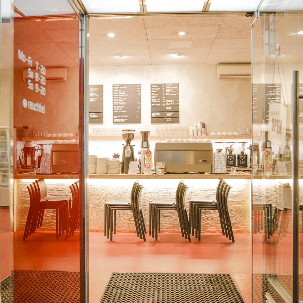 Intérieur café tribeka Graz Autiche