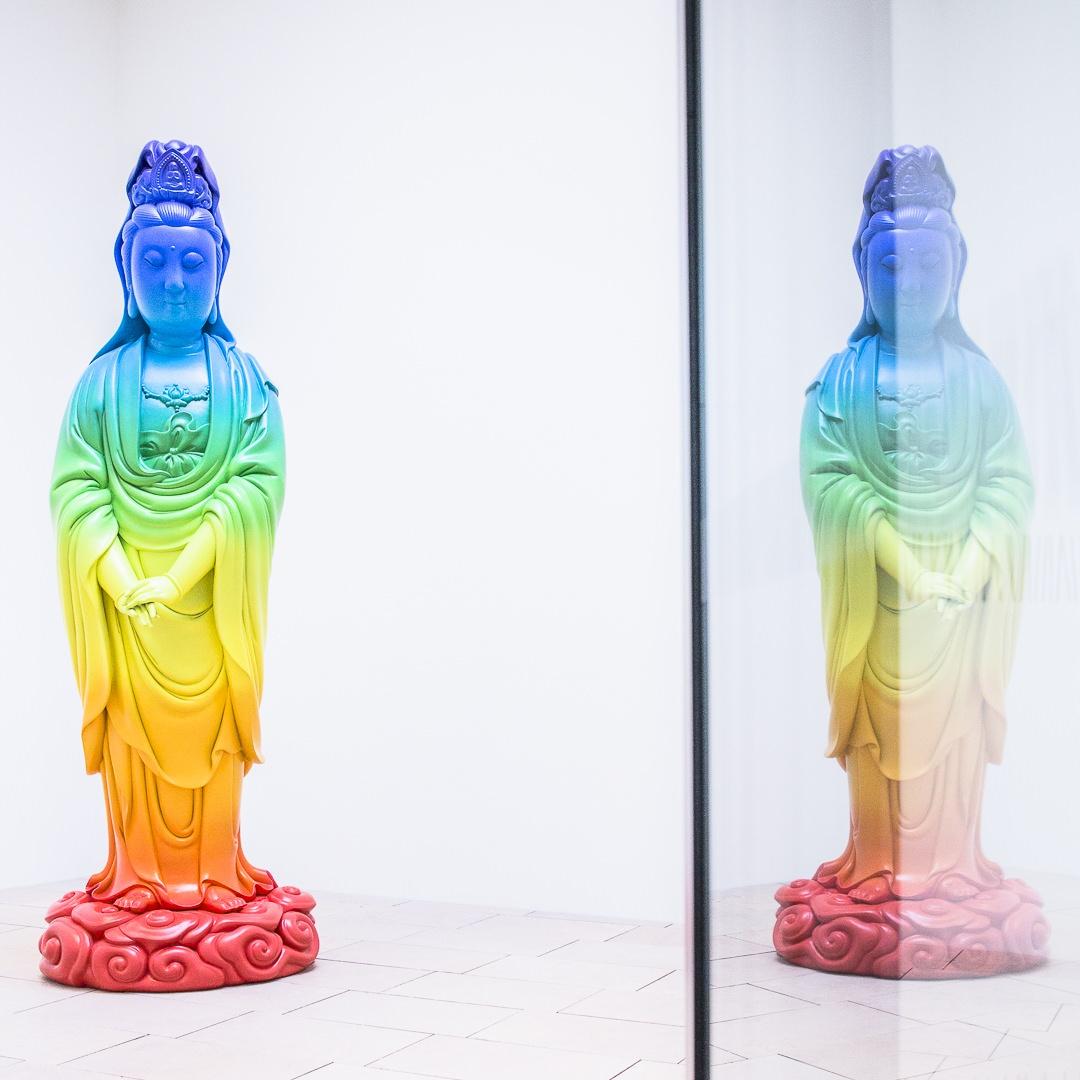 Double déesse Guan Yin