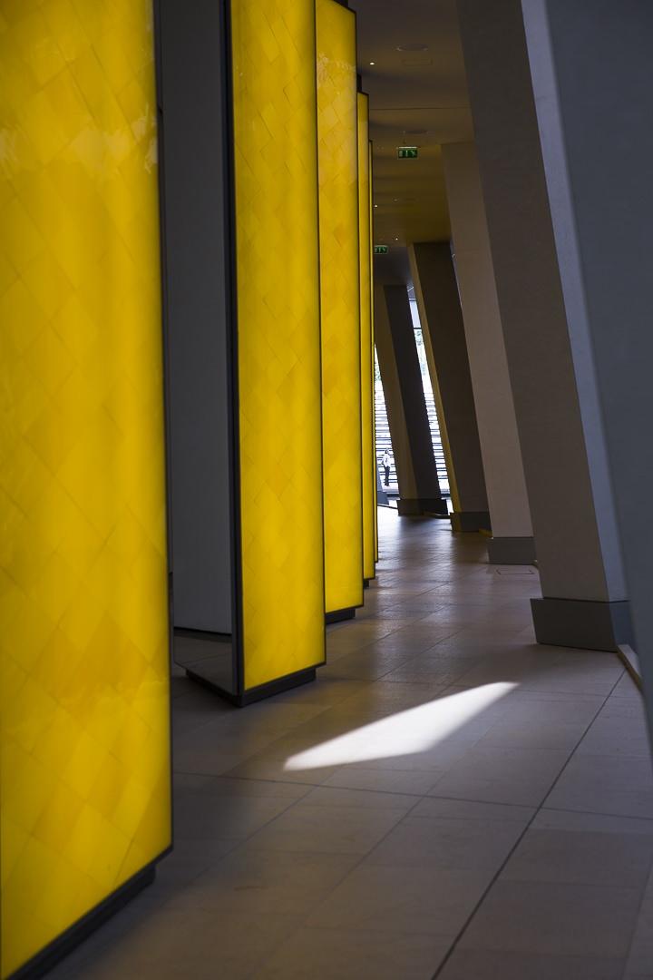 Rayon de soleil sur la fondation Louis Vuitton