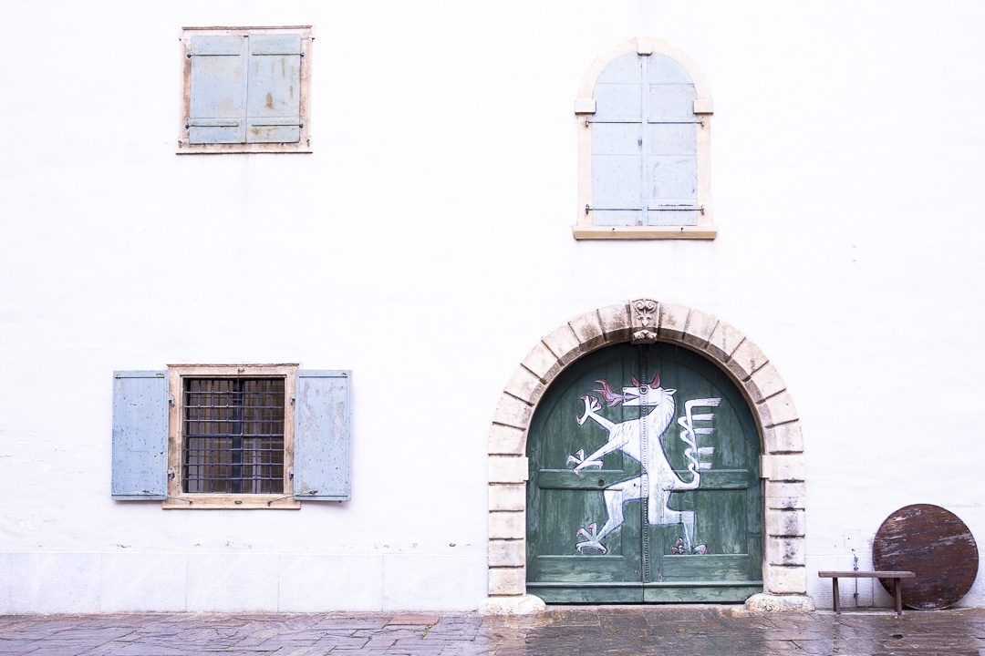 Porte à côté du Landhaushof