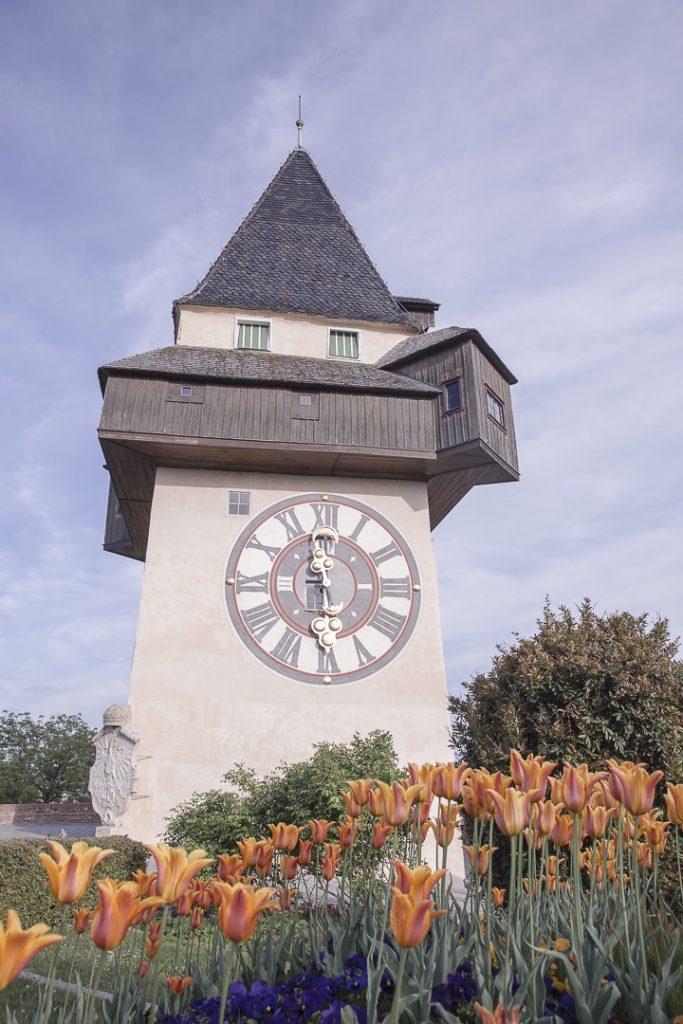 Tour de l'horloge à Graz