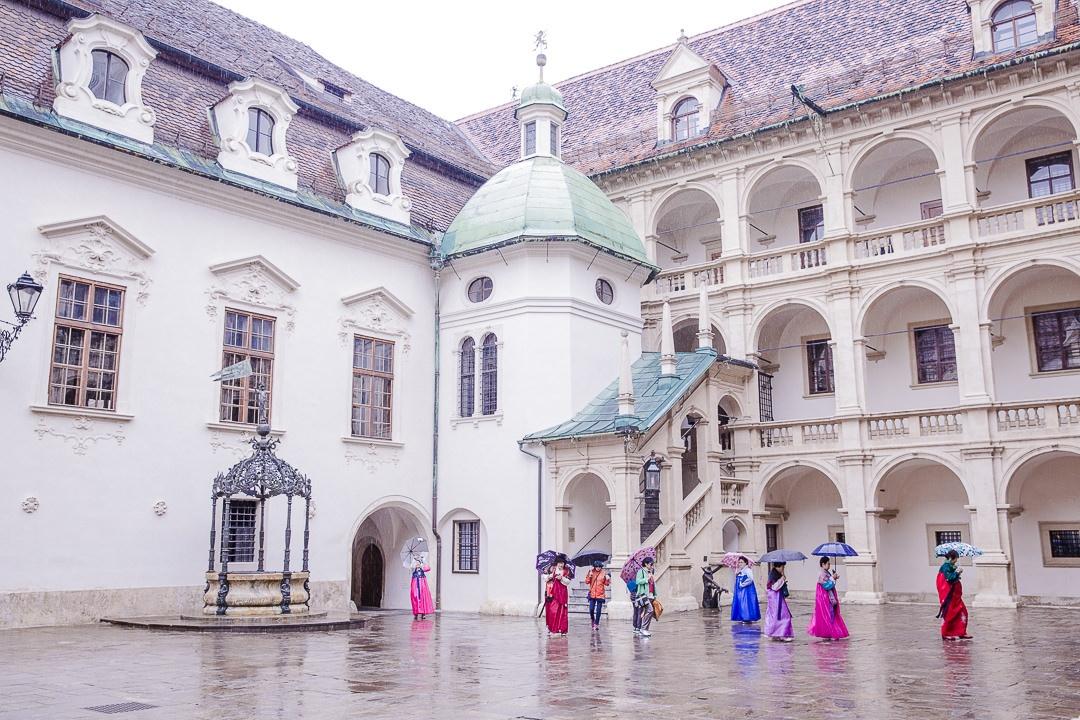 Cour du Landhaushod Graz