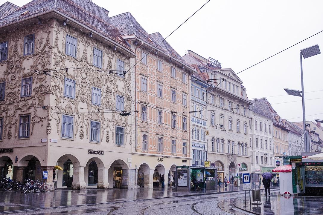 Façade de la boutique Swarovsky Graz, Autriche