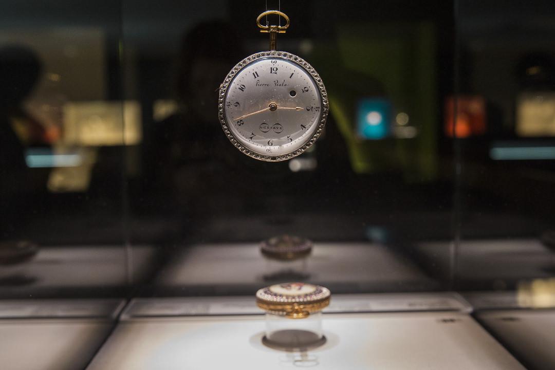 Montre à gousset de la collection du musée de la joaillerie à Pforzheim