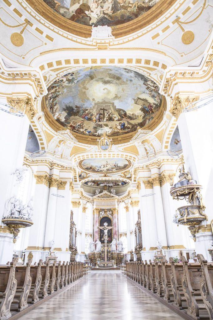 l'Eglise de l'abbaye de Wiblingen - Ulm, Allemagne