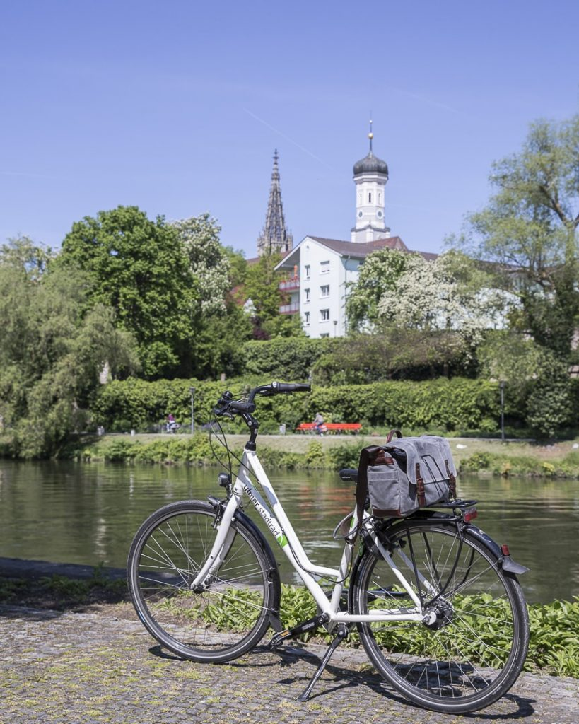 Longer le Danube en vélo, un incontournable à Ulm