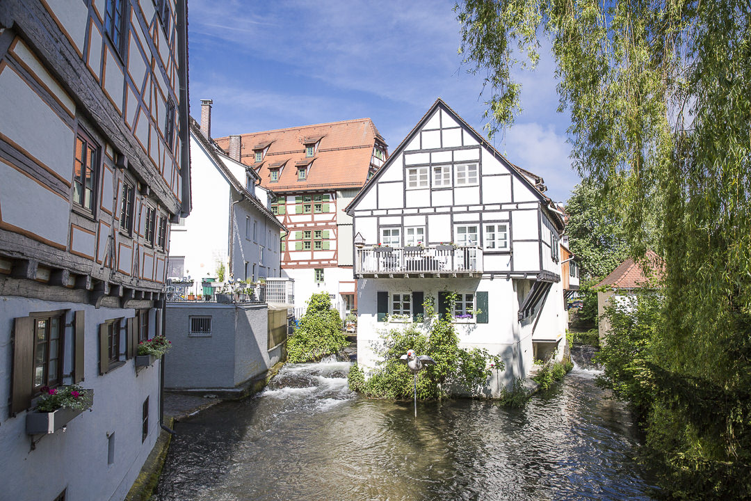 La maison sur l'eau de Ulm - Allemagne